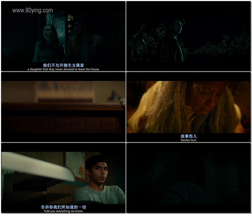 在黑暗中講述的恐怖故事-影片截圖